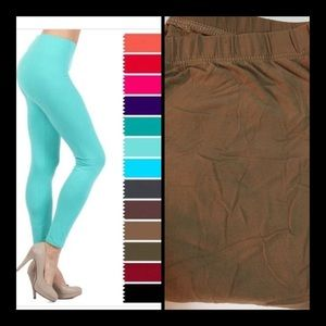 Pants - TAUPE LEGGINGS